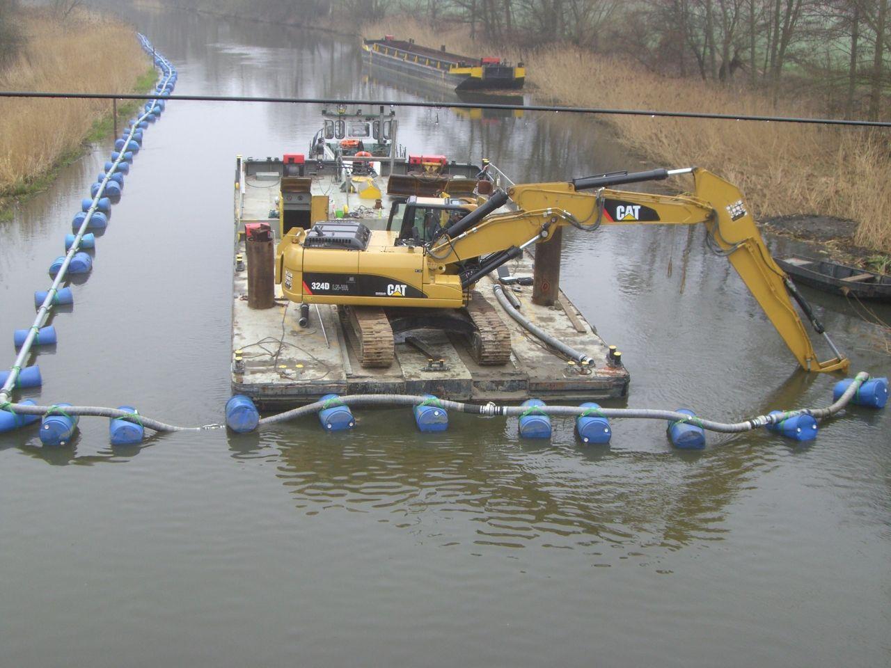 dragaggio canale